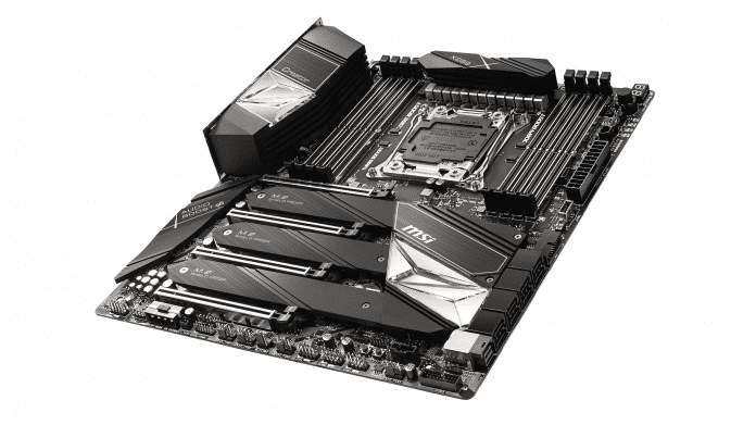 X299 für Intel Core X: MSI zeigt die ersten Mainboards mit USB 3.2 Gen 2x2