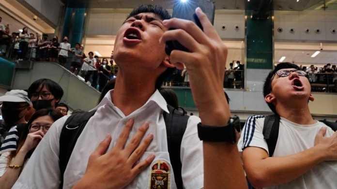 Peking wirft Apple Unterstützung der Proteste in Hongkong vor