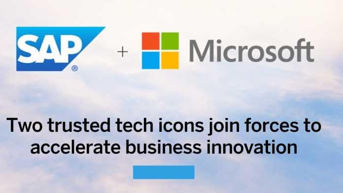 SAP setzt auf neue Partnerschaft mit Microsoft und Effizienzgewinne