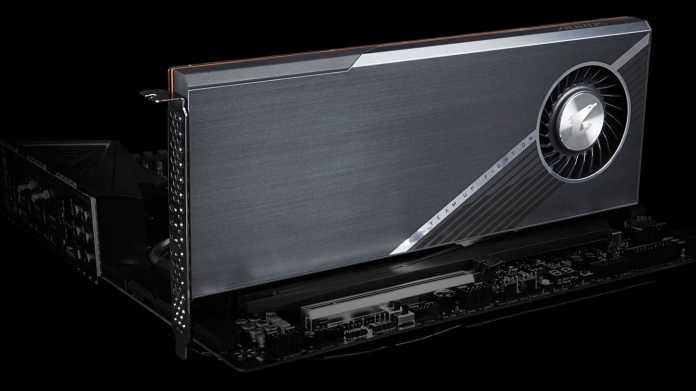 Gigabyte Aorus Gen4 AIC Adapter: PCIe-4.0-Erweiterungskarte für vier NVMe-SSDs