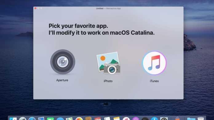 Patch macht iTunes, Aperture und iPhone unter Catalina einsatzfähig
