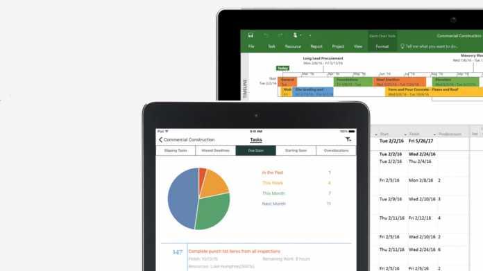 Microsoft Project: Teams und Power BI mit an Bord