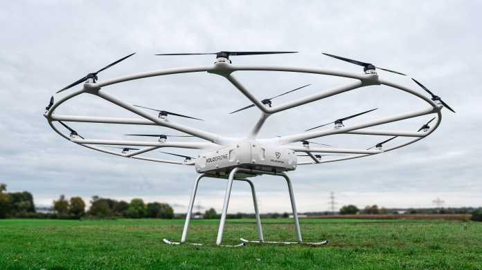 Volocopters Lastendrohne trägt bis zu 200 kg
