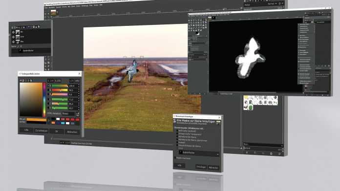 Bildbearbeitung ohne Photoshop: Fotos in Gimp komponieren und optimieren