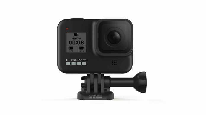 Actioncam GoPro Hero 8 mit verbessertem Bildstabilisator