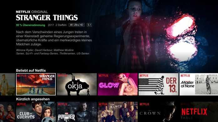 Netflix funktioniert ab Dezember nicht mehr auf älteren Geräten