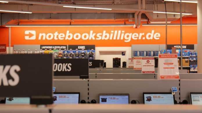 Stockende Warenlieferung bei Notebooksbilliger.de