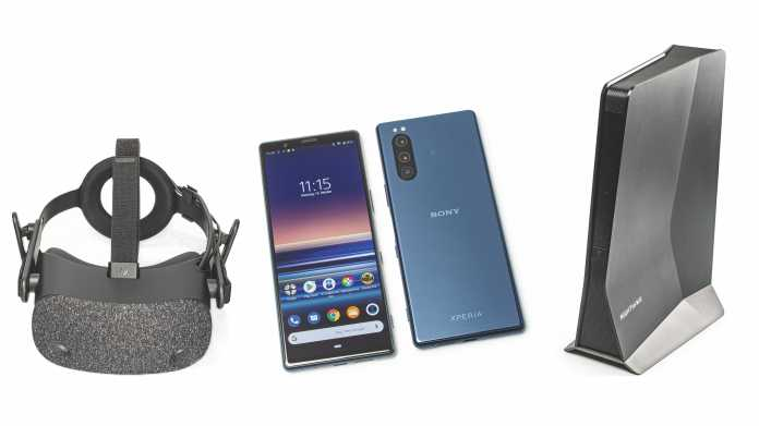 Kurztests: Sony Xperia 5, WLAN-Repeater für Wi-Fi 6 und HPs VR-Headset Reverb
