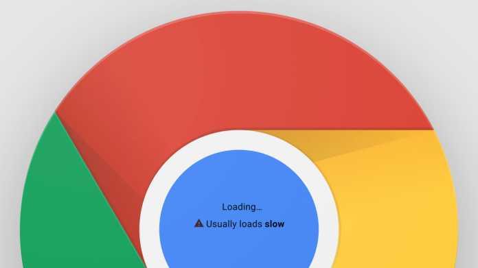 Google will lahme Websites in Chrome kennzeichnen