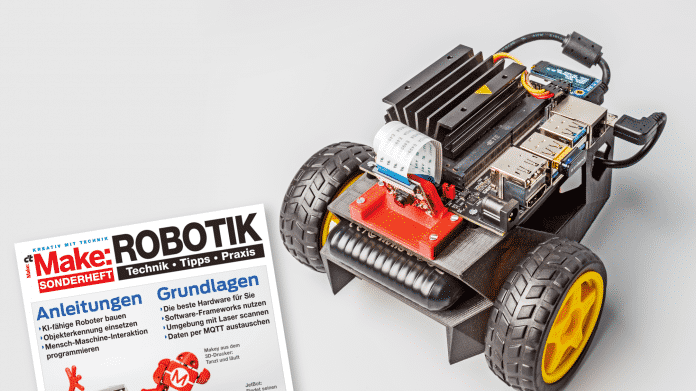 Make Sonderheft Robotik