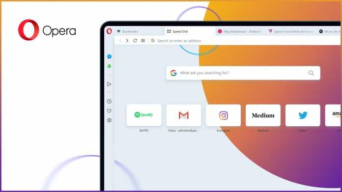 Browser: Opera 65 listet blockierte Tracker auf