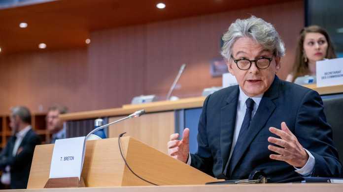 EU-Binnenmarktkommissar: Französischer Kandidat besteht erste Runde im Parlament
