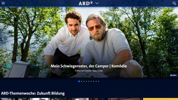 ARD und ZDF verknüpfen ihre Mediatheken