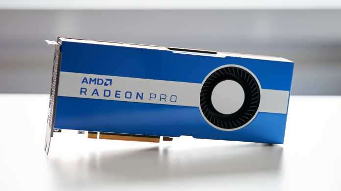 Radeon Pro W5700: AMD bringt 7-nm-Technik für Workstations