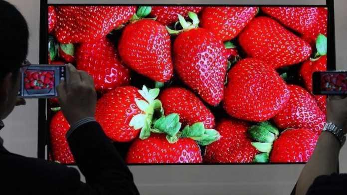Fernseher mit Ultra-HD-Auflösung
