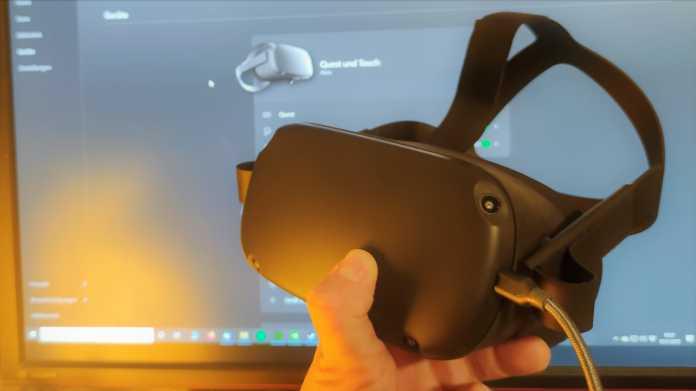 Oculus Link ausprobiert: Die Quest ist jetzt ein richtig gutes PC-Headset