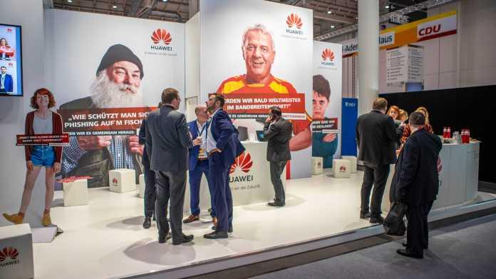 Früher war alles anders: Huawei auf dem CDU-Parteitag 2018.