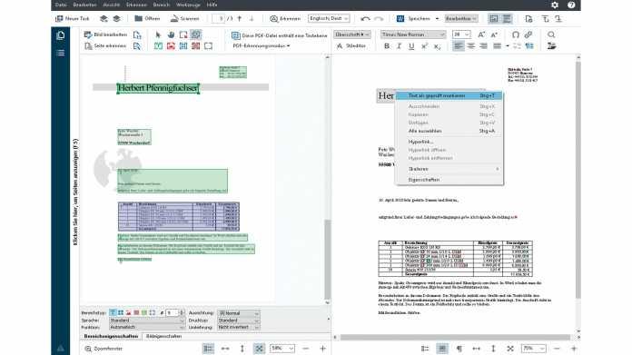 OCR-Software Abbyy FineReader 15