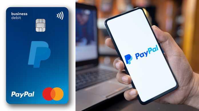 Paypal: Kostenlose Debit-Mastercard für Geschäftskunden