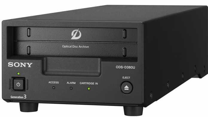 Sony Optical Disc Archive Generation 3: 5,5 TB pro Cartridge