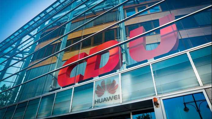 CDU-Parteiführung will Huawei-Debatte entschärfen