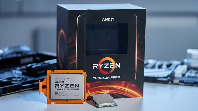 AMD hat für Ryzen Threadripper 3000 eine neue Verpackung entworfen. Intels Core i9-10980XE erreicht uns als Tray-Version.