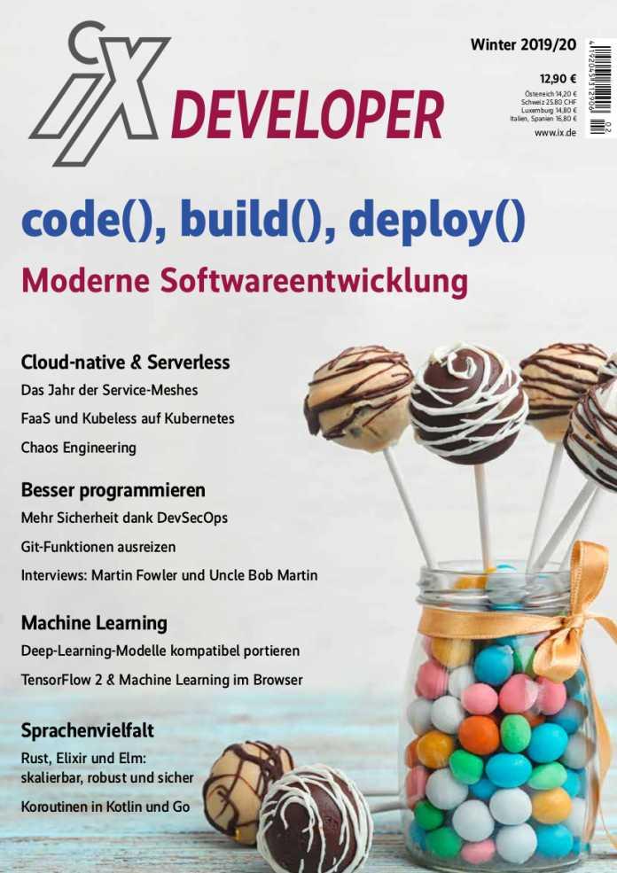 Auf 156 Seiten gibt das Sonderheft einen umfassenden Einblick wichtiger Themen der modernen Softwareentwicklung.