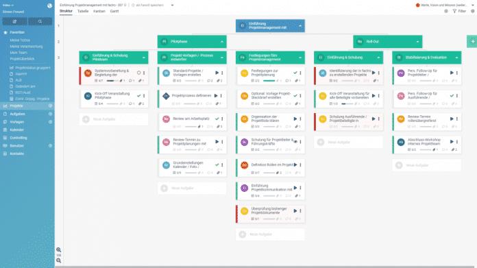 Projektmanagement: factro mit Drittanwendungen nutzen