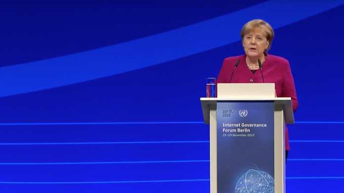 IGF: Guterres und Merkel warnen vor Spaltung des Netzes