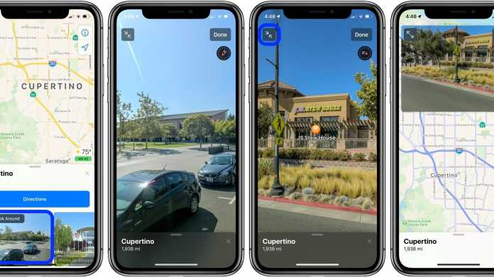 Look Around in Apple Maps