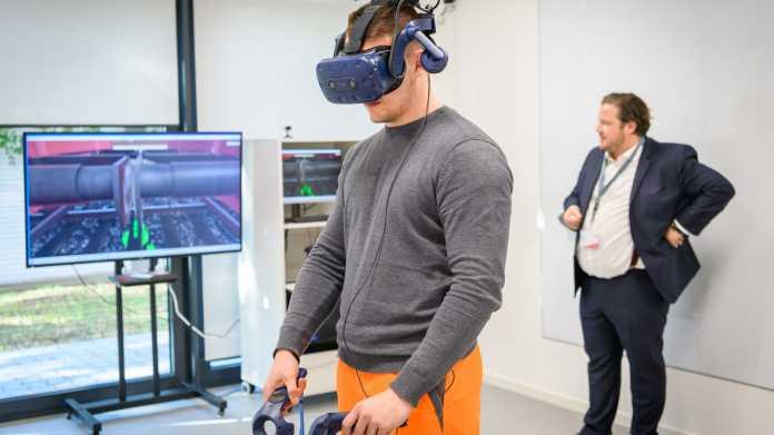 """Lernen mit Virtual-Reality-Brille: """"Echter als gedacht"""""""