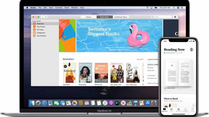 macOS 10.15: Änderung in Bücher-App sorgt für volllaufende Festplatten