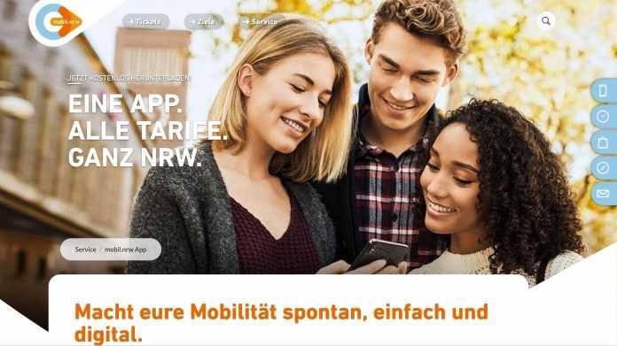 Städteübergreifender ÖPNV: Eine Ticket-App für Bus und Bahn in ganz NRW