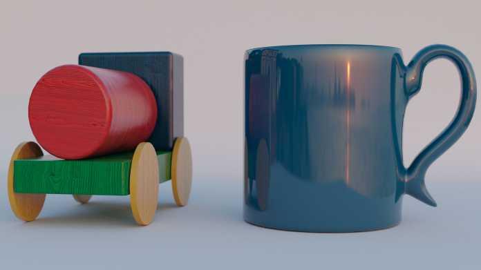 Blender-Workshop, Teil 4: 3D-Modelle gekonnt in Szene setzen