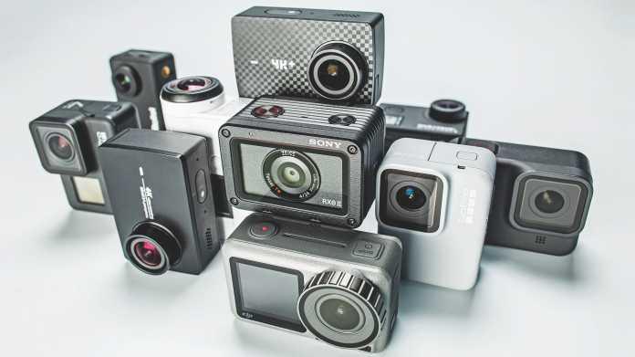 Zehn Actioncams für Full HD und 4K zwischen 150 und 700 Euro
