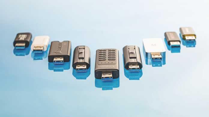 Schnelle USB-Sticks ab 20 Euro