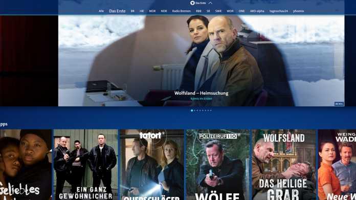 """ARD plant 2020 Streaming-Offensive """"mit voller Wucht"""""""