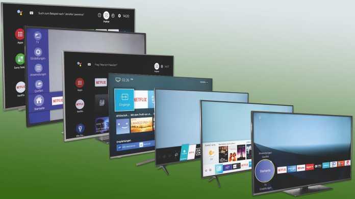 Sieben günstige 4K-TVs mit 55 Zoll Diagonale und HDR