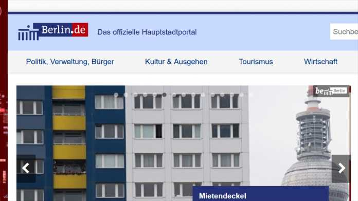 Werbe-Tracking: Datenschutzbeauftragte prüft Landesportal berlin.de