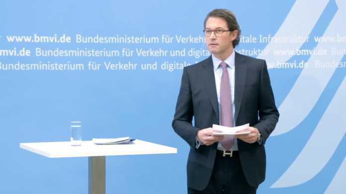 Scheuer verteidigt sein Vorgehen zur Pkw-Maut