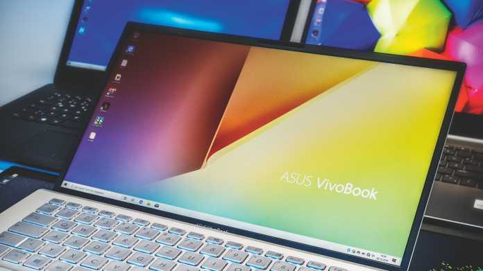 Fünf Notebooks mit CPUs der zehnten Core-i-Generation und matten 14-Zoll-Bildschirmen