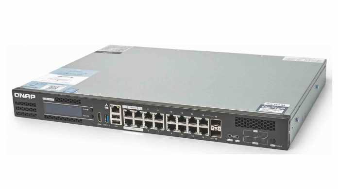 QNAP QDG-1600P: Netzwerk-Kern für kleine Firmen