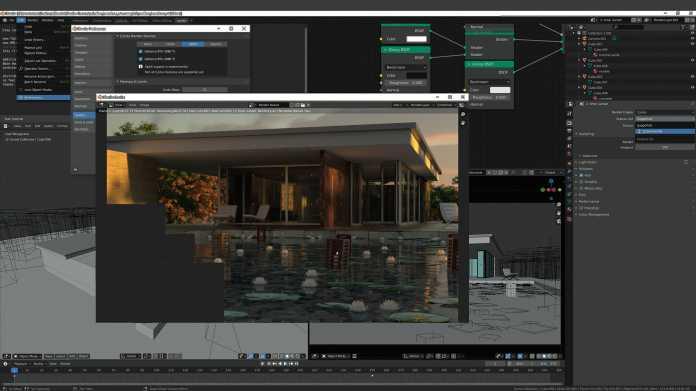 3D-Welten in Blender mit der Grafikkarte schneller rendern