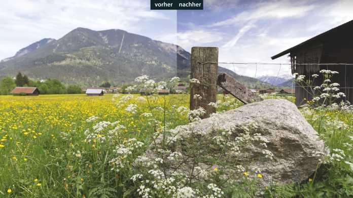 Bildbearbeitung: Bessere Landschaftsfotos mit Affinity Photo