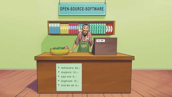 Geschäftsmodelle mit Open-Source-Software
