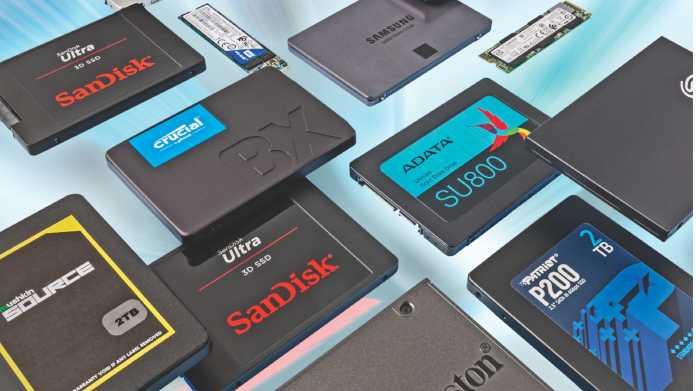 14 SSDs mit 2 und 4 TByte