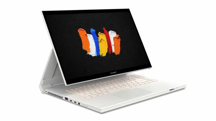 Acer ConceptD 7 Ezel (Pro): Leistungsstarke Notebooks für kreative Nutzer