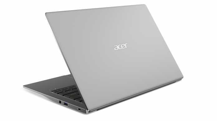 Acer stattet Swift-3-Notebooks mit 3:2-Bildschirm oder Ryzen 4000U aus