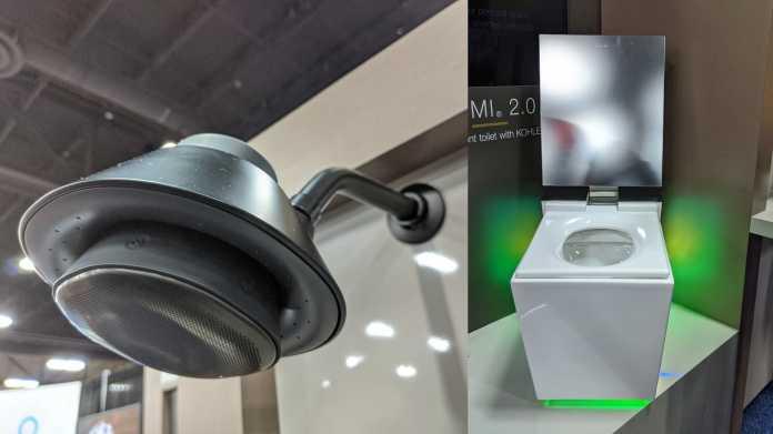 Auf dem Pott mit Alexa: Duschkopf und Toilette mit smartem Assistenten