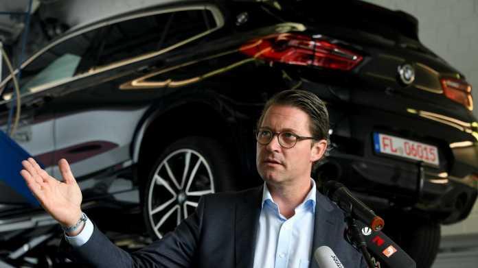 Scheuer: Autoindustrie soll schneller klimafreundlicher werden
